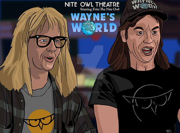 Wayne's World by monsterartist