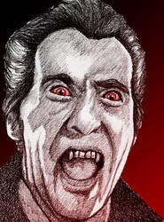 Christopher Lee in Horror of Dracula
