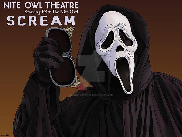 Scream by monsterartist
