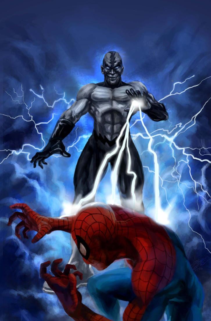 Electro Spider Man Wallpaper SpiderMan vs Electro b...