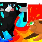 Firestar Vs Scourge by DJ-Catsume