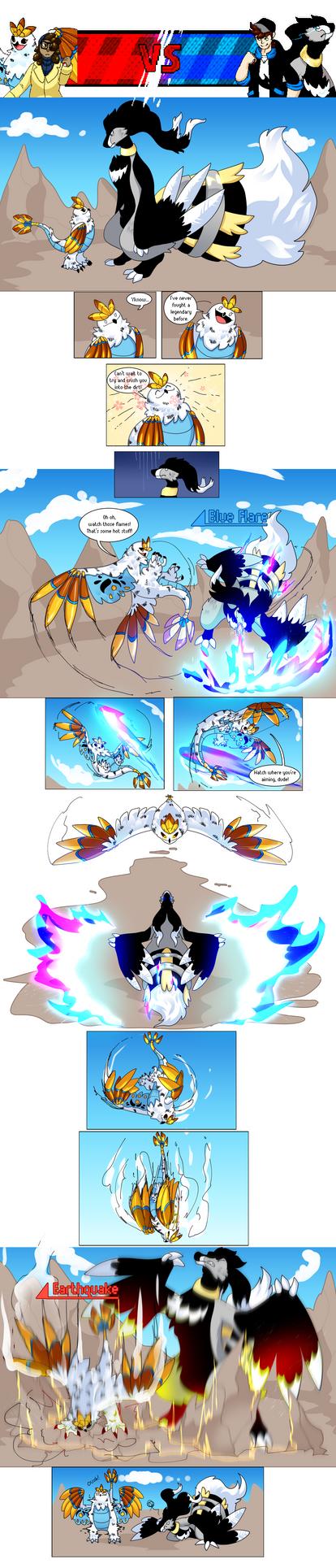 [PKMN] Battle! Vs Prince-Jett's Revelation by splendidcitrus
