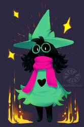 Ralsei by splendidcitrus