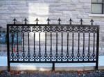 Wrought Iron Fence Segment