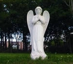 Angel Praying Stone or Plaster