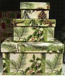 Christmas Present Box Stack