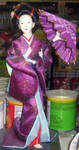 Geisha Purple with Parasol by SweetSoulSister