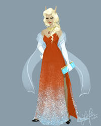 Elf Fashion Plate by ThatCerwis