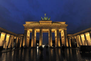 Brandenburger Tor, dusk by barsknos