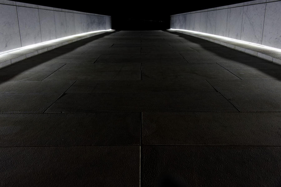 Oslo Opera house - Nighttime details 3