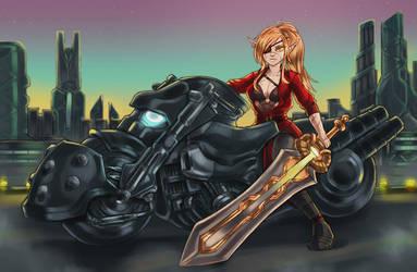 Elf biker
