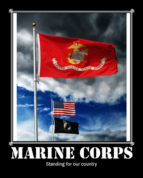 :::-Marine Corps-::: by Marine-Sista1990