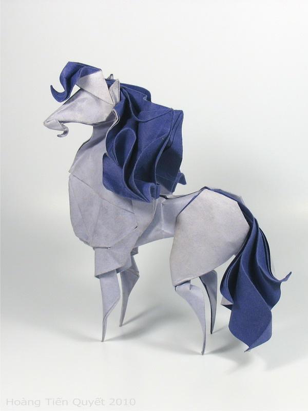 Origami Horse by HTQuyet