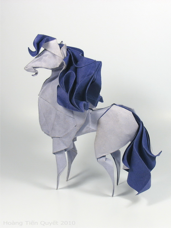 Origami Horse By Htquyet On Deviantart