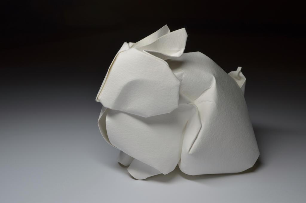 Origami Rabbit by HTQuyet