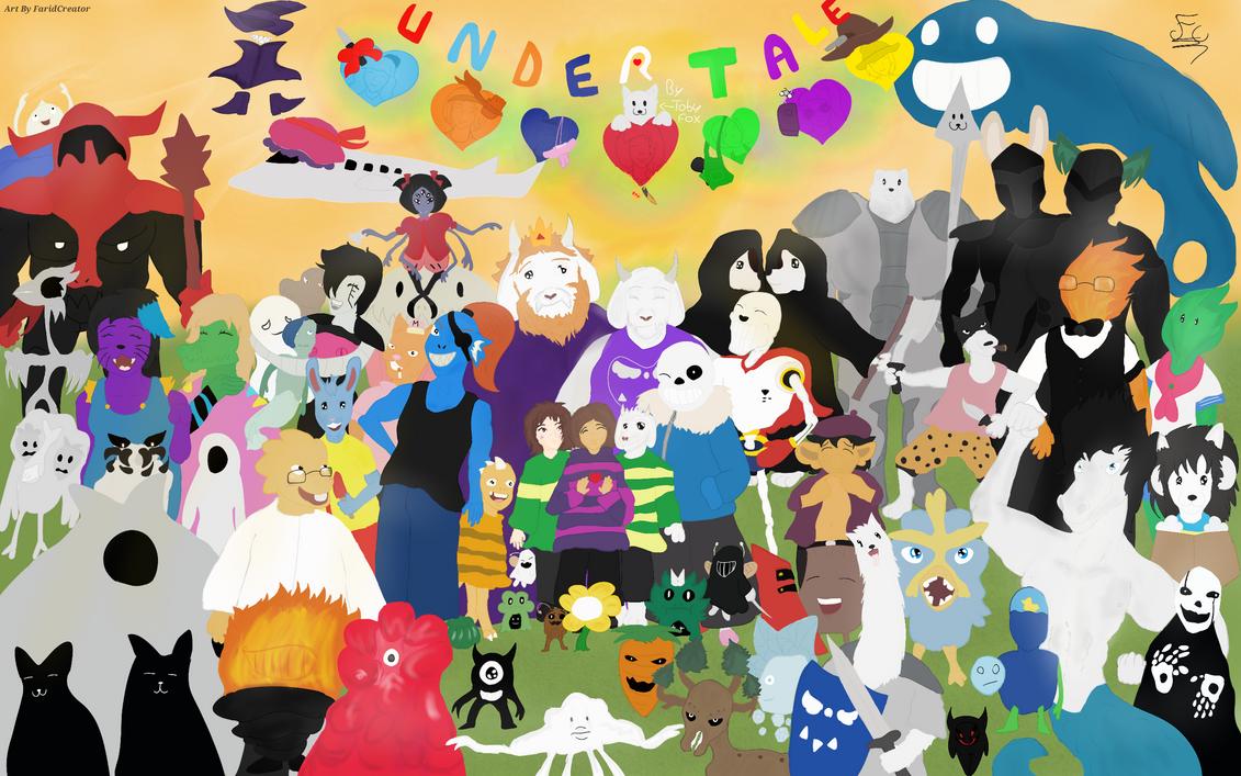 My 1st Undertale FanArt/ Mon 1er FanArt Undertale by FaridCreator