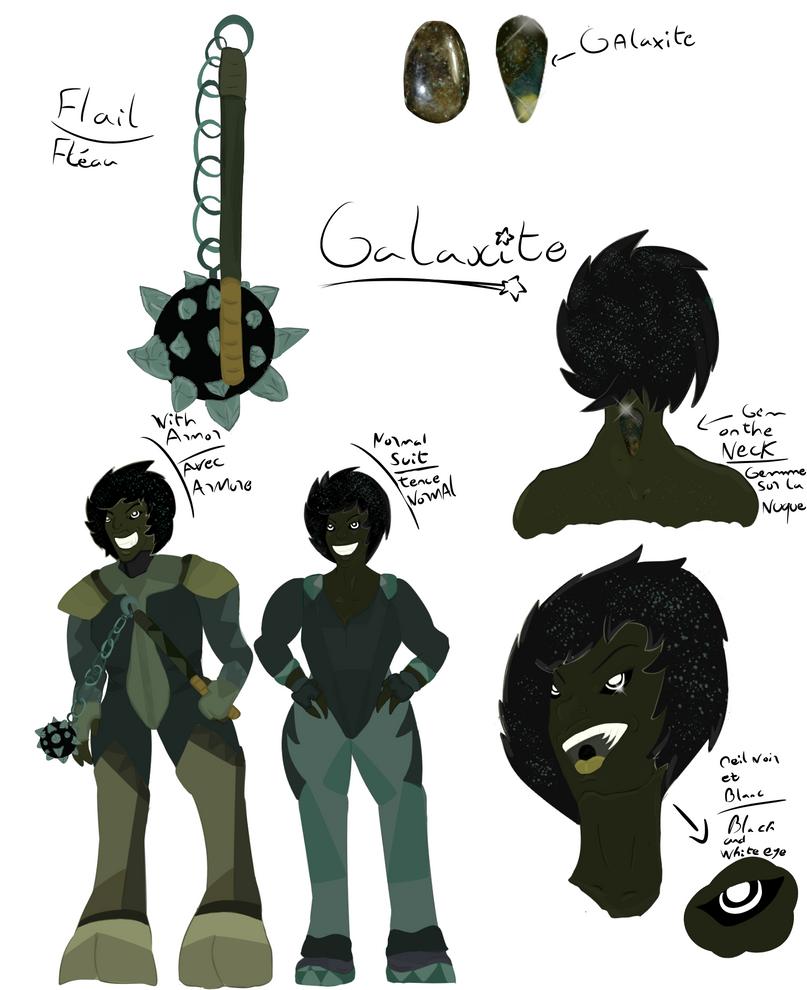 Galaxite Gemsona by FaridCreator