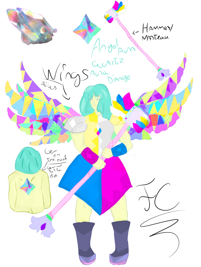 Remake Angel Aura Quartz by FaridCreator
