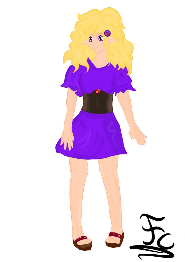 Elf Girl ! by FaridCreator