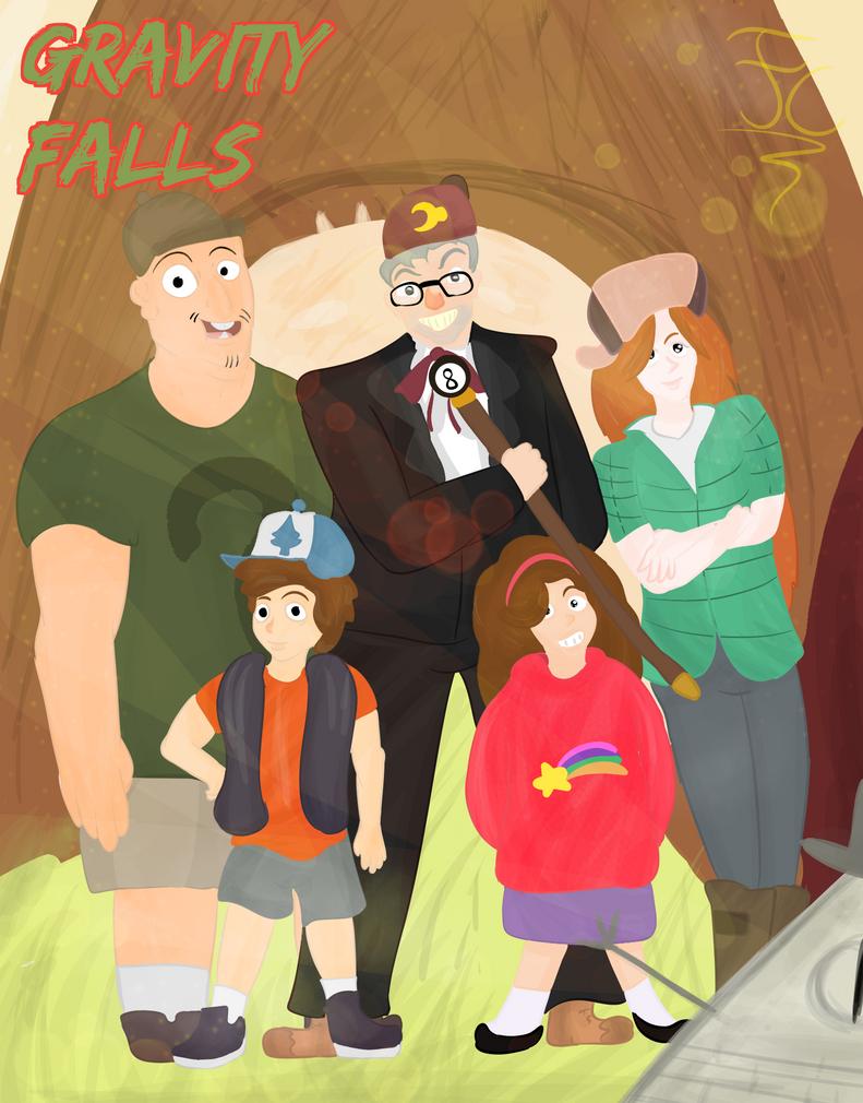 Gravity Falls FanArt by FaridCreator