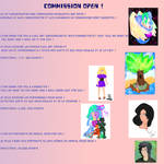 Commission Open !