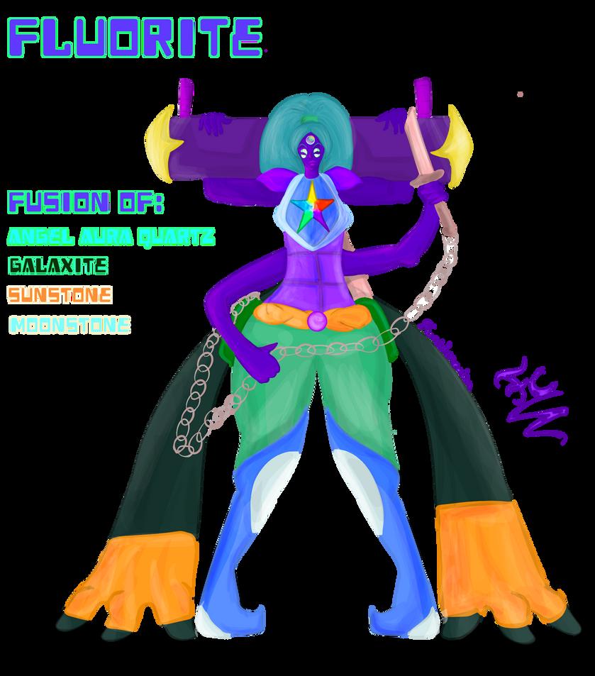 Fluorite Remake Fusion Gemsona by FaridCreator