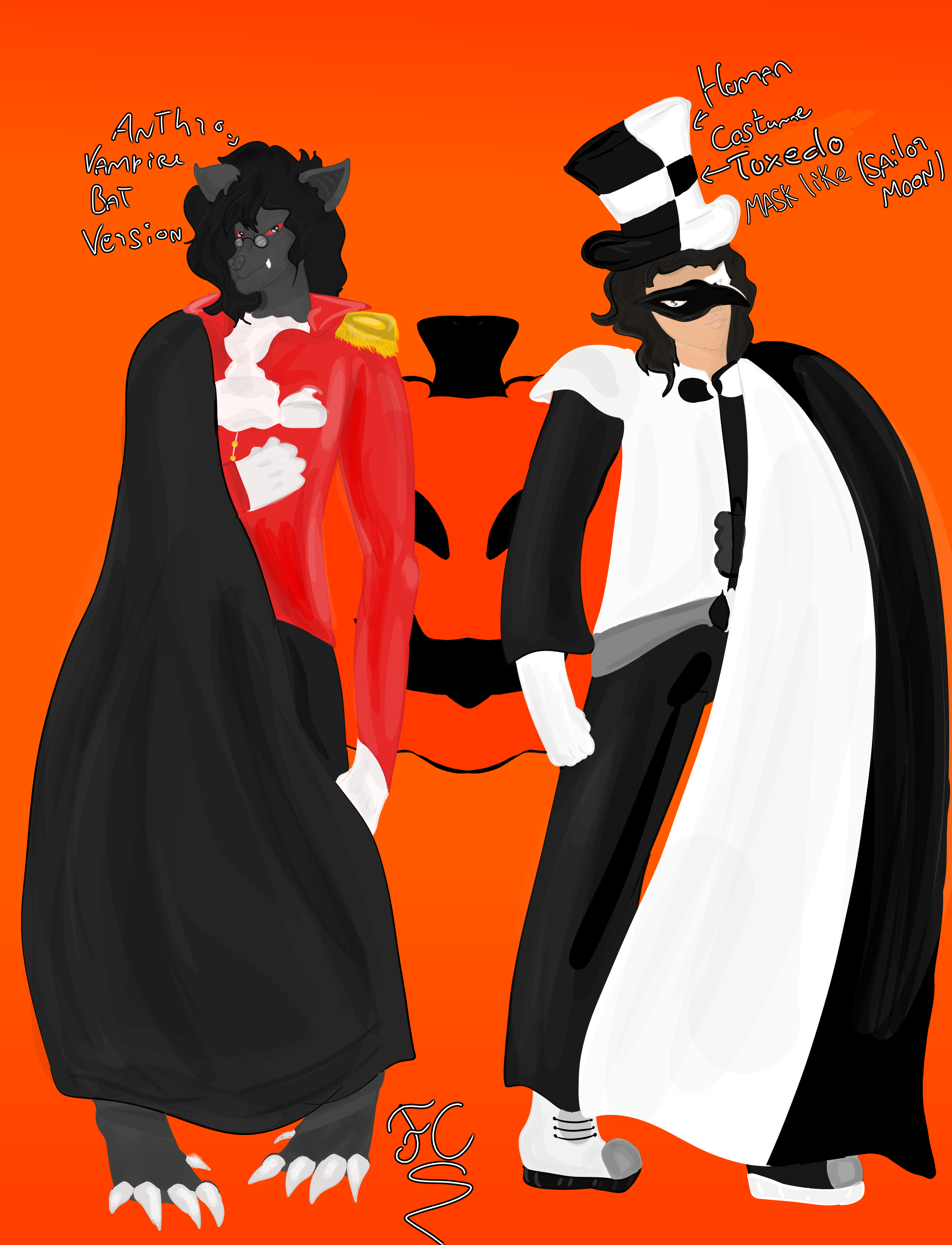 Halloween Outfits by FaridCreator