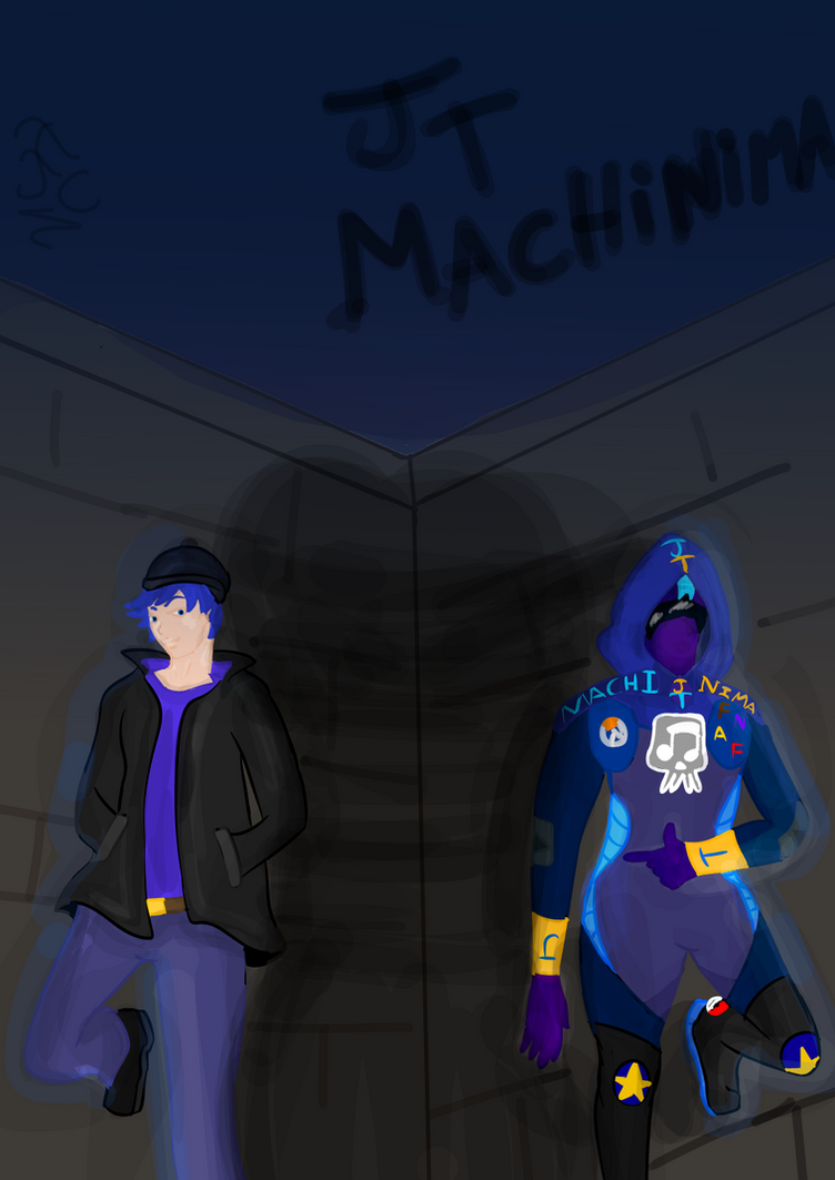 Stand oc JT Machinima by FaridCreator
