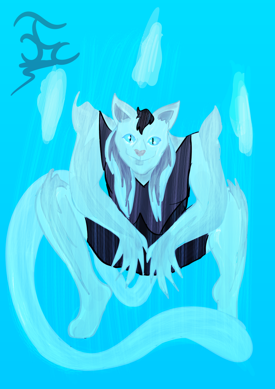 Stand Oc Blizzard ternel by FaridCreator