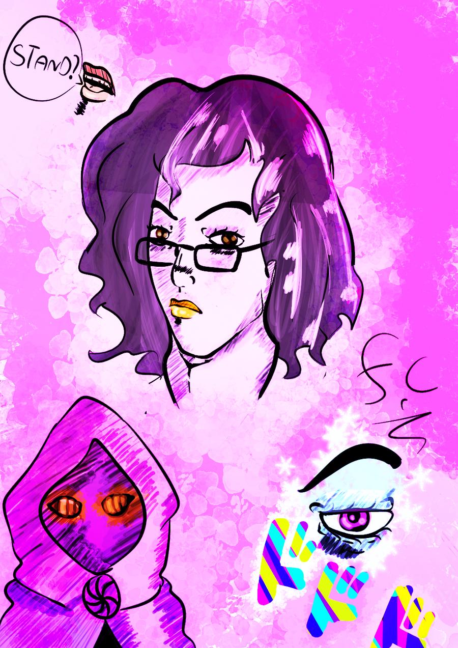Me In Jojo Style Colorized by FaridCreator