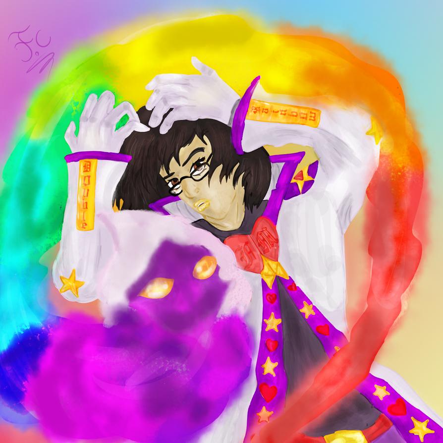 Me  Double Rainbow by FaridCreator