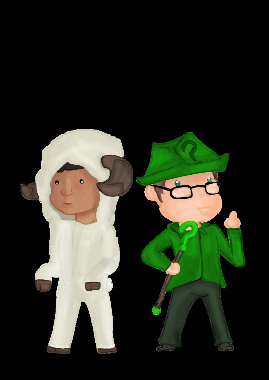 DidileBon  SheepSenpai  by FaridCreator