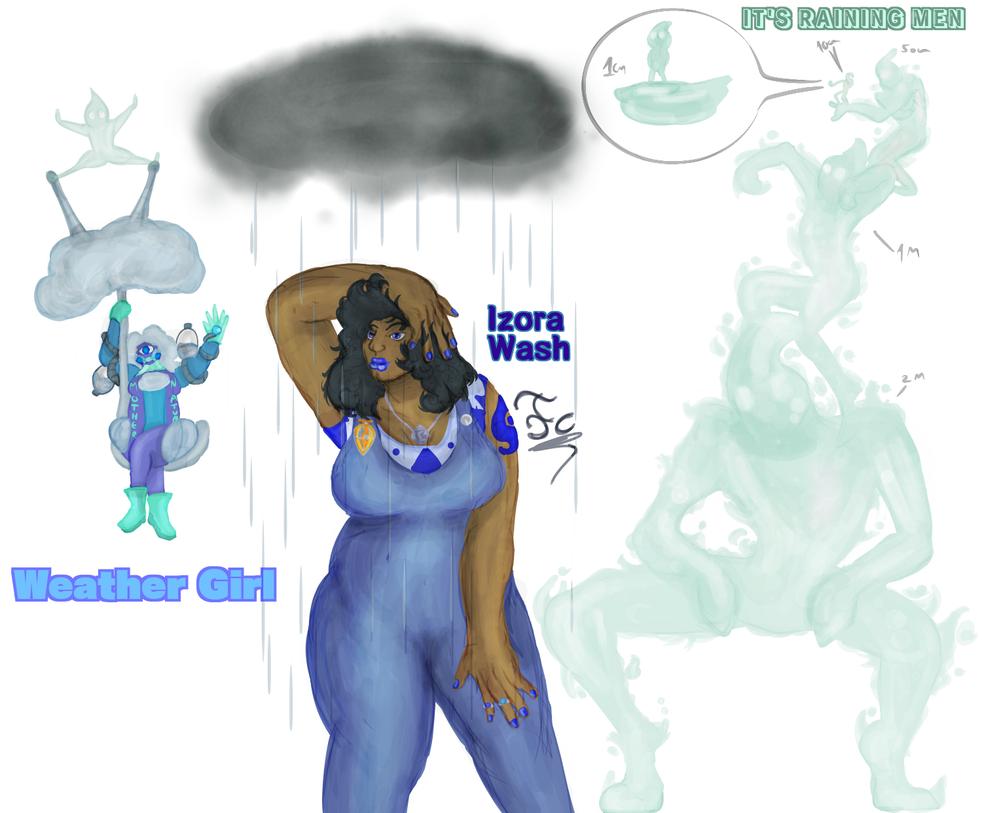 Jojo Oc Izora Wash by FaridCreator
