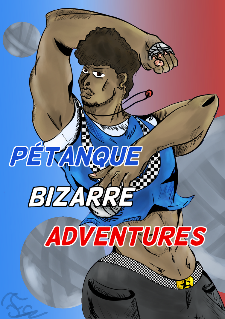 PTANQUE BIZARRE ADVENTURES w/ Sheep senpai by FaridCreator