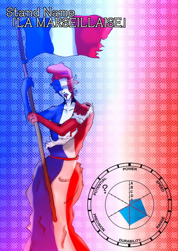 Stand Oc La Marseillaise  by FaridCreator