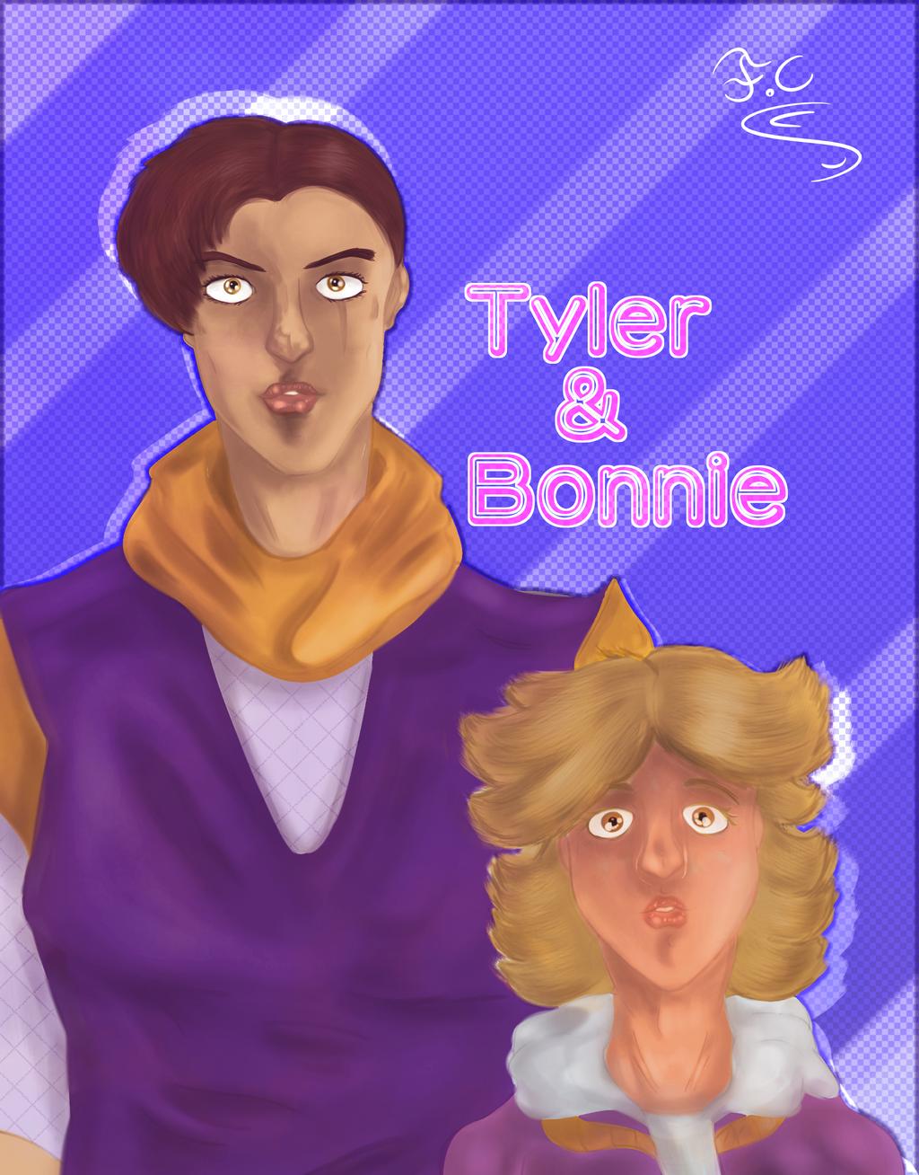 Tyler And Bonnie Jojo oc  by FaridCreator