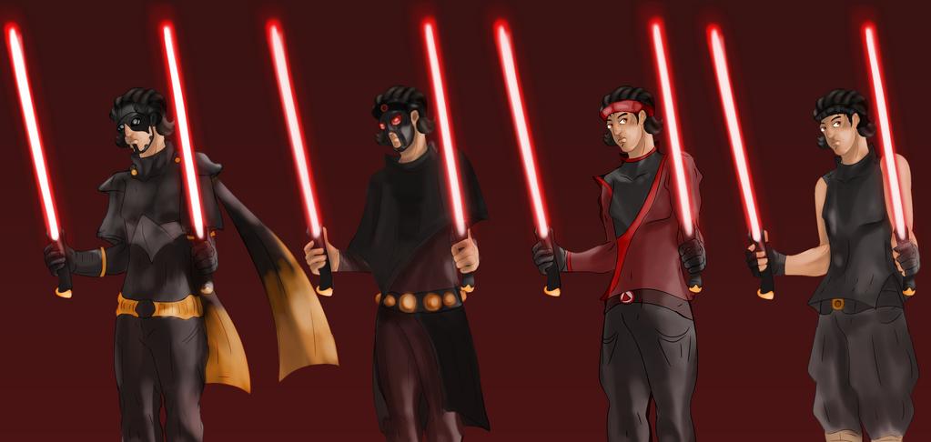 Star Wars TOR Grades Sith by FaridCreator