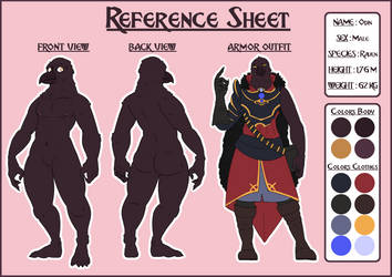 Reference Sheet for Odin