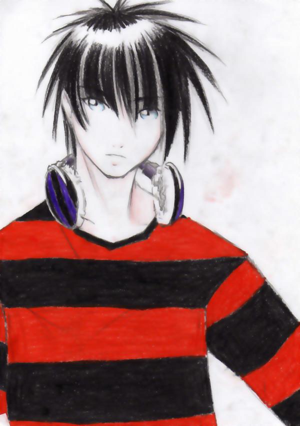 anime drawings emo guys. emo anime boy angel. Emo Boys