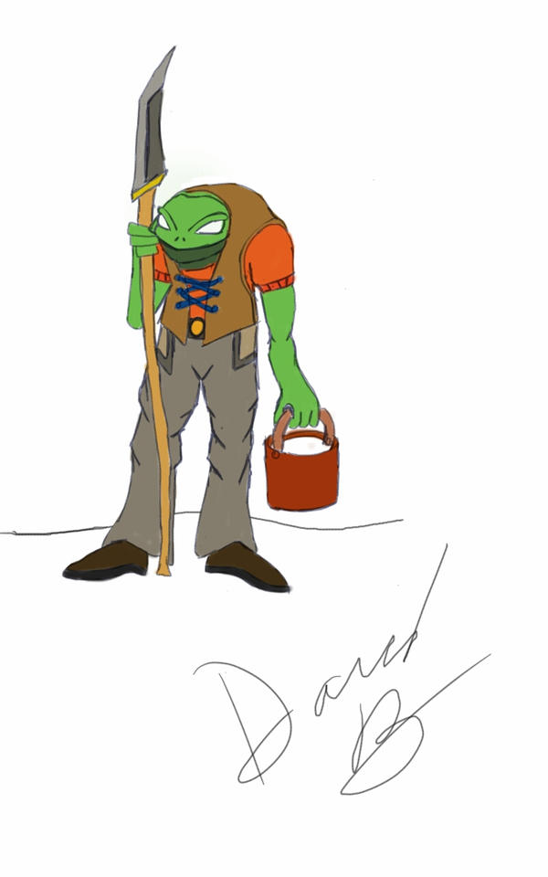 working frog by dchotwolf101