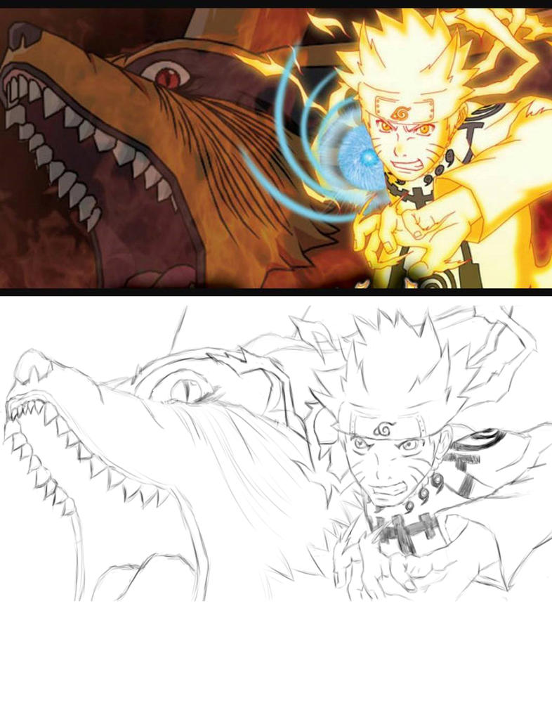 Drawing Side By Side by dchotwolf101