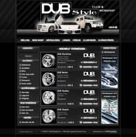 Dubstyle webdesign by blinka