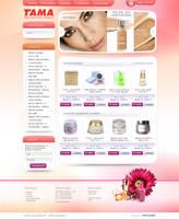 TAMA webdesign by blinka