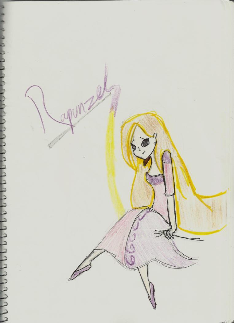 Rapunzel by kickass-lolita