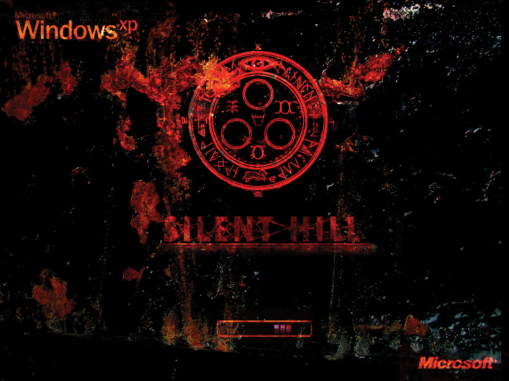 My Silent Hill Bootscreen by Joohan
