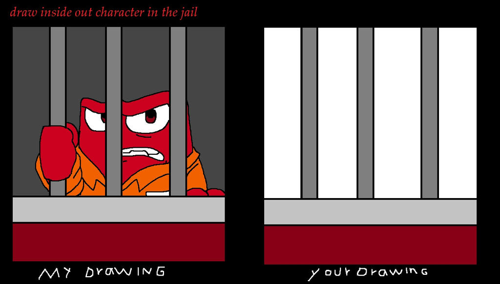 Draw Inside Out Character In The Jail by adriana4ever on DeviantArt