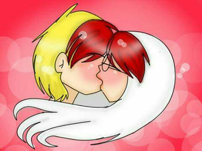 kiss  by adriana4ever