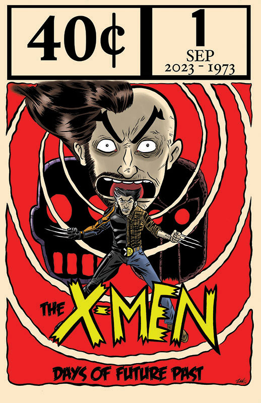 XMen Days of Future Past by spicypeanut