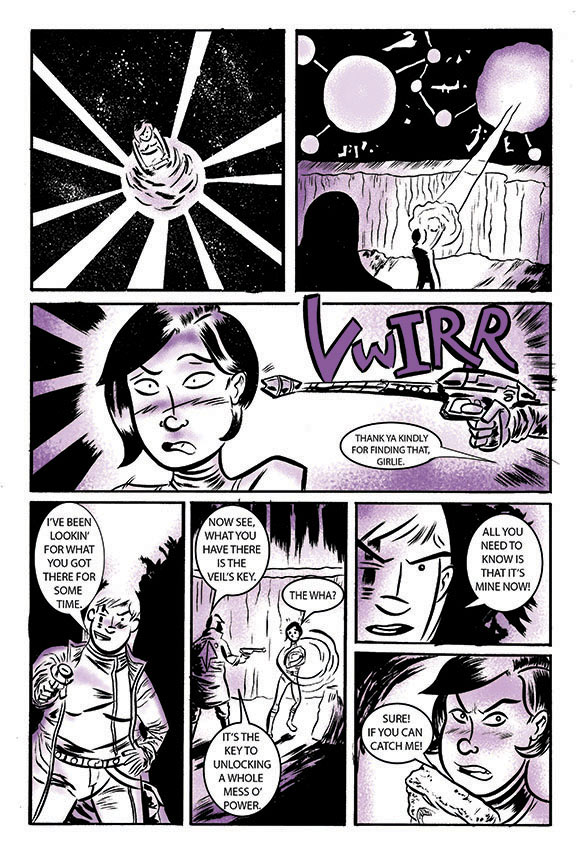 Outre Veil preview pg 4 by spicypeanut