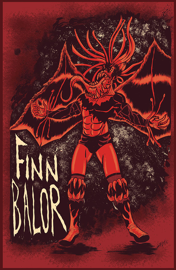 Finn Balor by spicypeanut